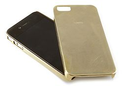 IPHONE 5 CAST BRASS COVER