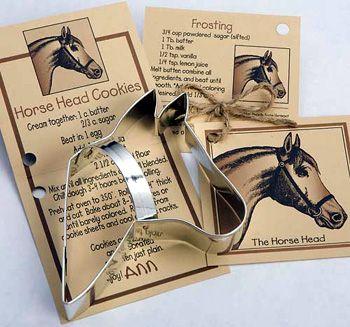 Horse Design Cookie Cutters