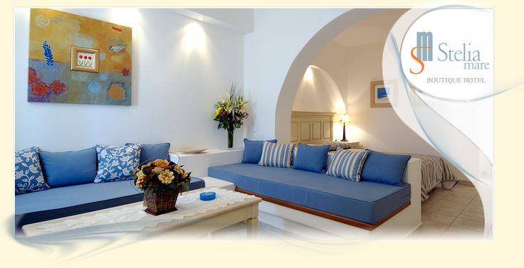 Stelia Mare Boutique Hotel, Naoussa Paros | rooms