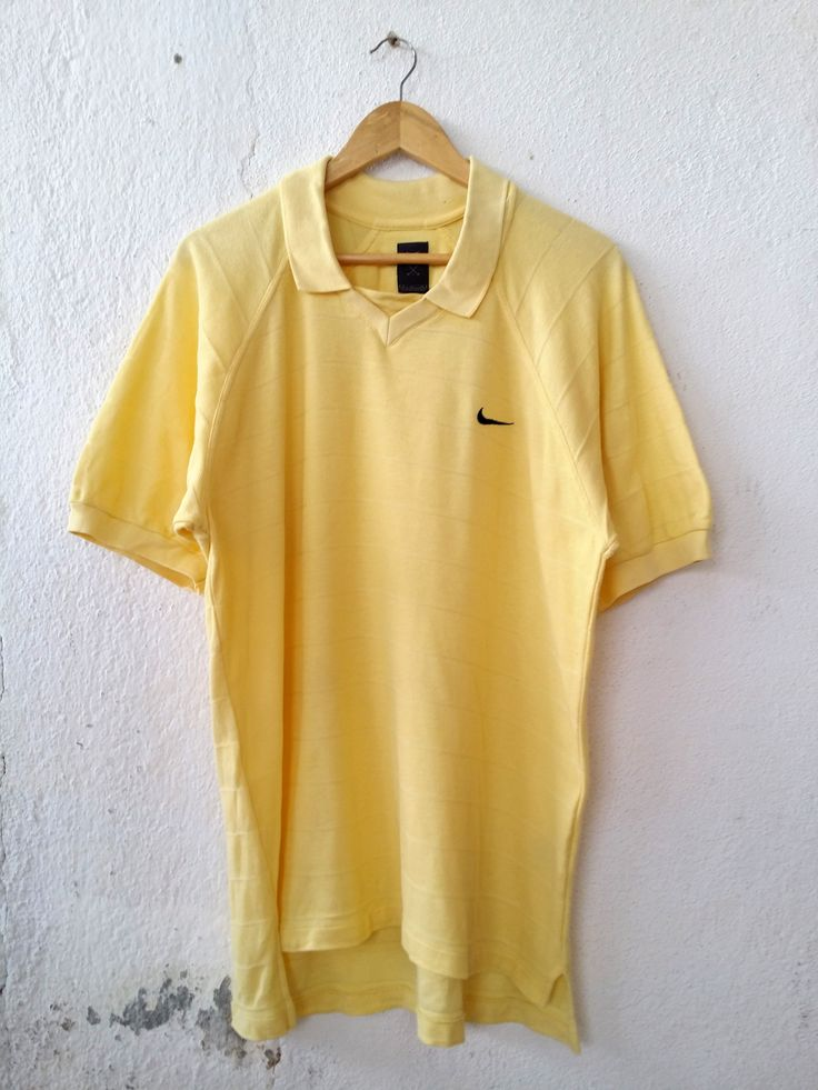 """Nike Polo Shirt Swoosh Golf Logo Embroidered Tee Size S