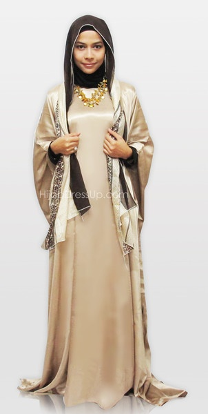 Butterfly Abaya Set $65 http://www.hijabdressup.com/collections/frontpage/products/abaya-butterfly-bf011
