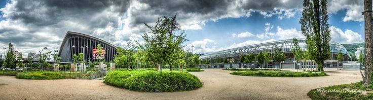 Nouveaux Panoramique de Grenoble (stade, quai St Laurent...) en HDR dans la catégorie Panoramique de mon site: http://www.gregrandon.com/?gallery=panoramique