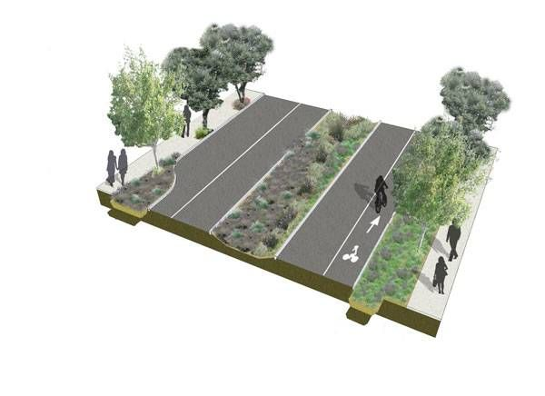 "Award-Winning 21st Street Turns Roadway Into ""Green and Complete Street"""