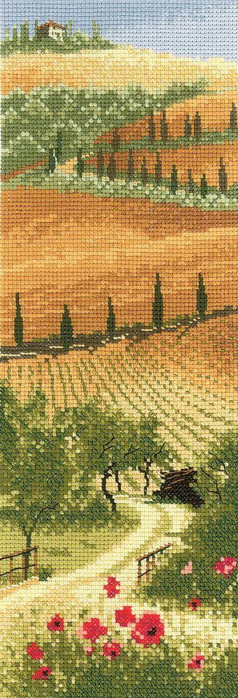 Heritage Crafts Tuscany Counted Cross Stitch Kit | eBay