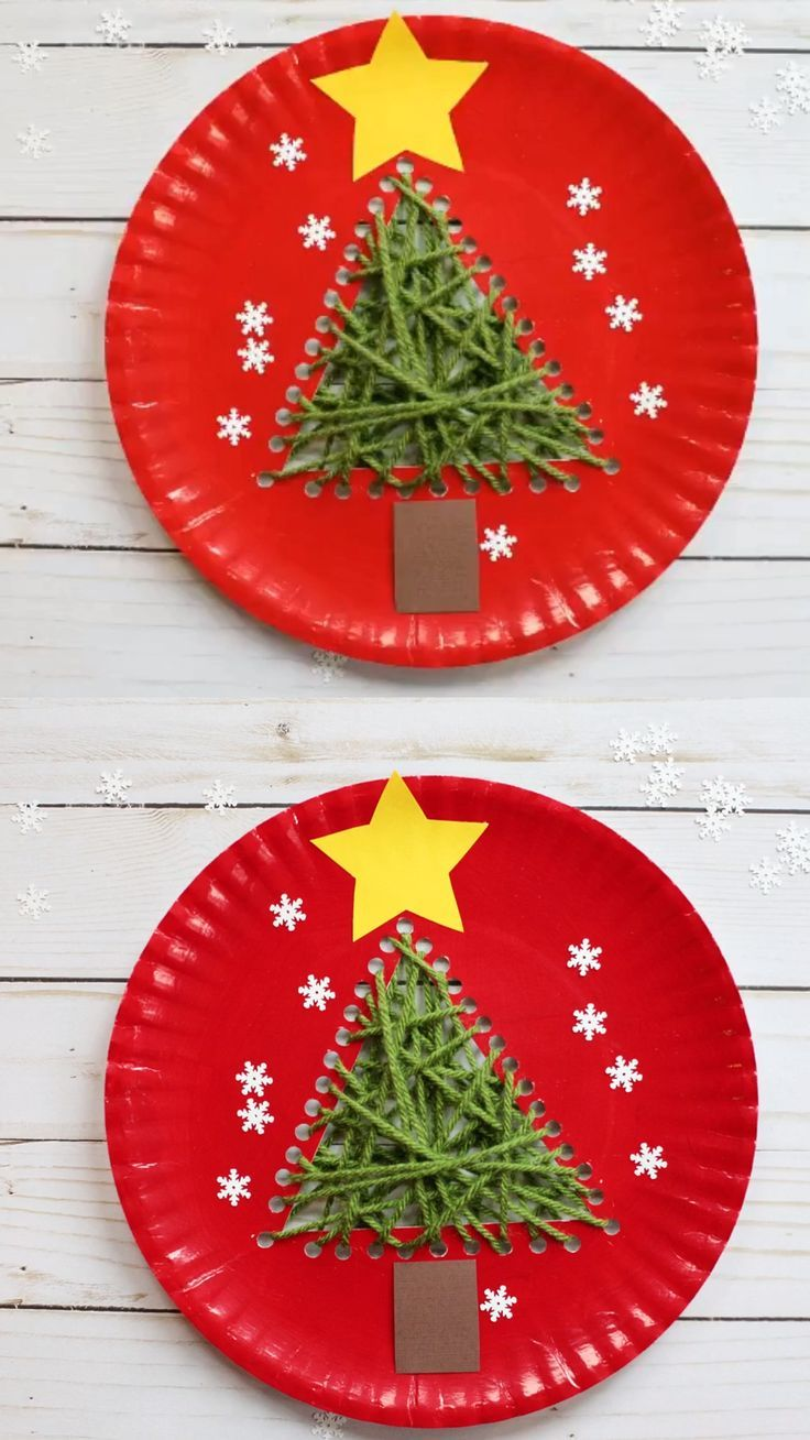 Paper Plate Christmas Tree Craft For Kids Preschooler Craft Preschool Christmas Crafts Christmas Crafts Creative Christmas Crafts