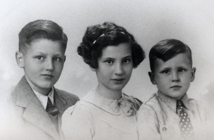 Ome Joop, Tante Marie en Pappa Frans