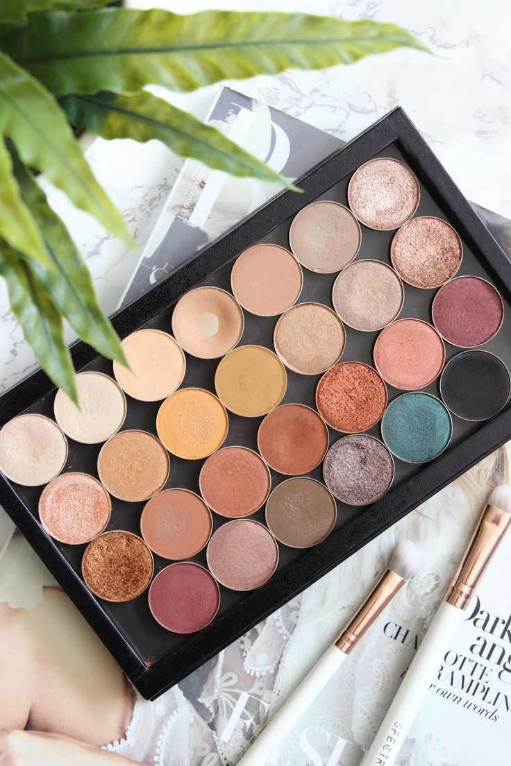 Makeup Geek Palette | Review & Swatches by @em_knott (Instagram).