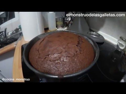 Bizcocho de los vasitos de yogur y chocolate - YouTube