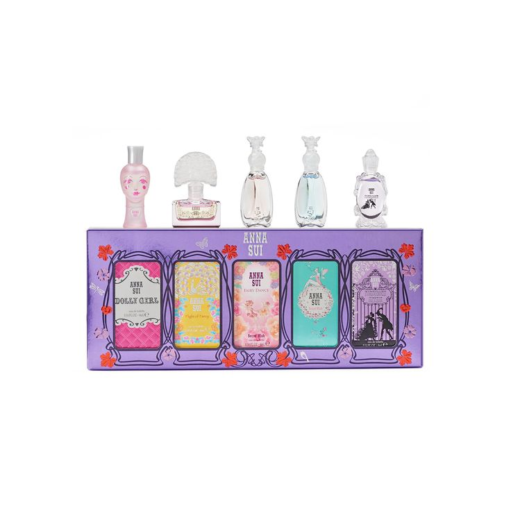 Anna Sui Women's Perfume Gift Set, Multicolor