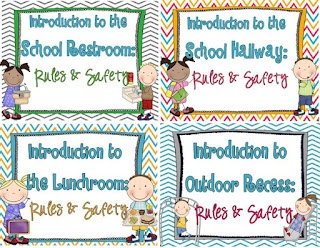 School Rules! Hallway, Restroom, Lunchroom & Recess! Teacher read alouds and student printables$: Schools Rules, Hallways Rules, Bus Safety, Behavior Management, Great Book, Classroom Management, Teaching Rules, Schools Years, Rules Safety