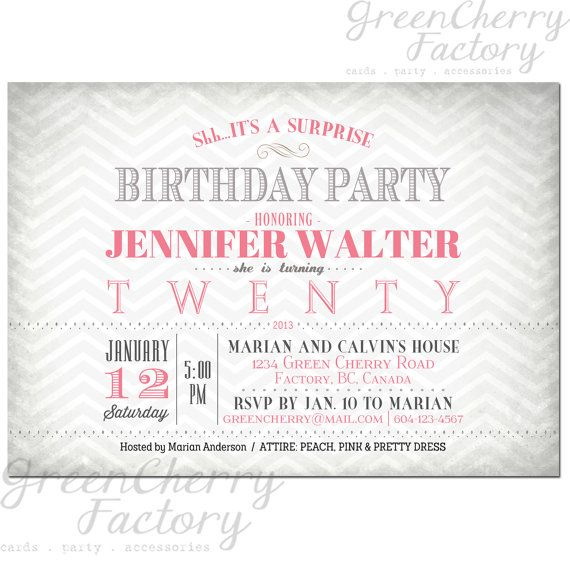 328 best Birthday Invitations Adult images on Pinterest Birthday - best of birthday invitation adults