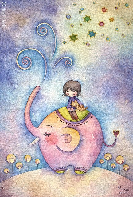 elefantito rosa. Puedes ver mucho más sobre familia y bebes en www.solerplanet.com