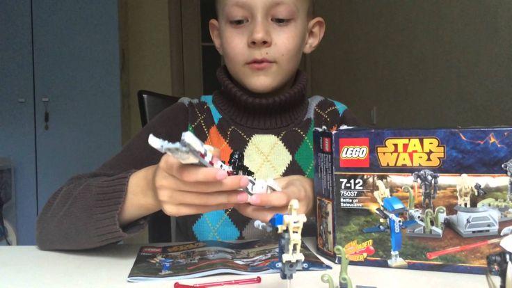 Обзор Lego Star Wars 75037. Набор Лего Звездные Войны