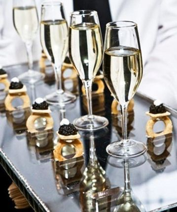 Champagne & Caviar. This is all I need in my life