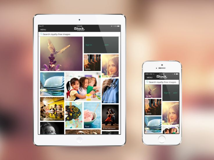 Getty Updates Images And iStock On iOS