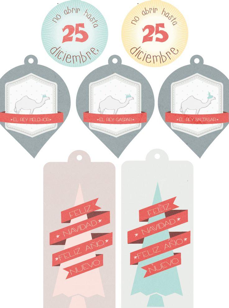 lasrtaglez blog: Imprimibles de Navidad -gratis!!!- | Para imprimir ...