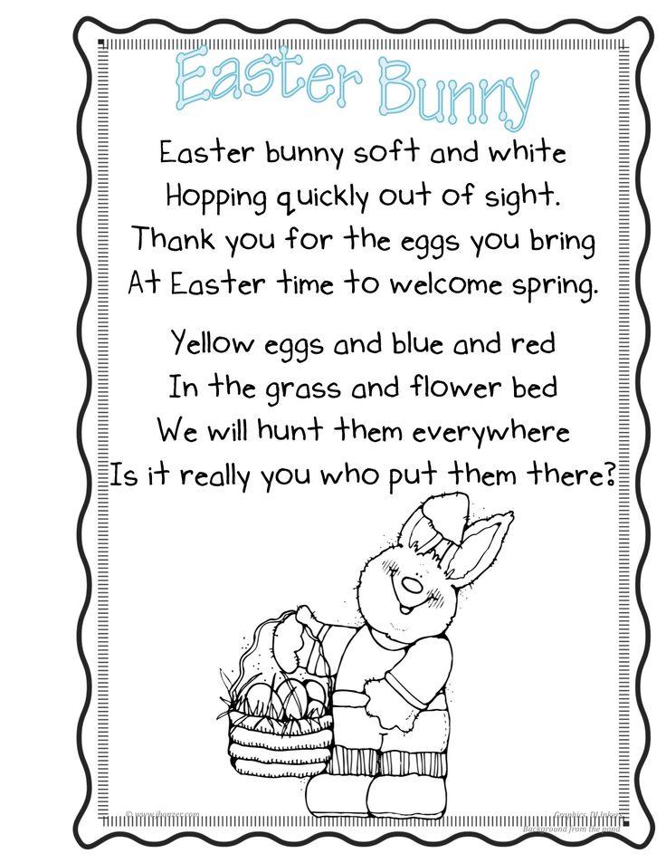 easter poems for children - Google Search | Easter poems ...