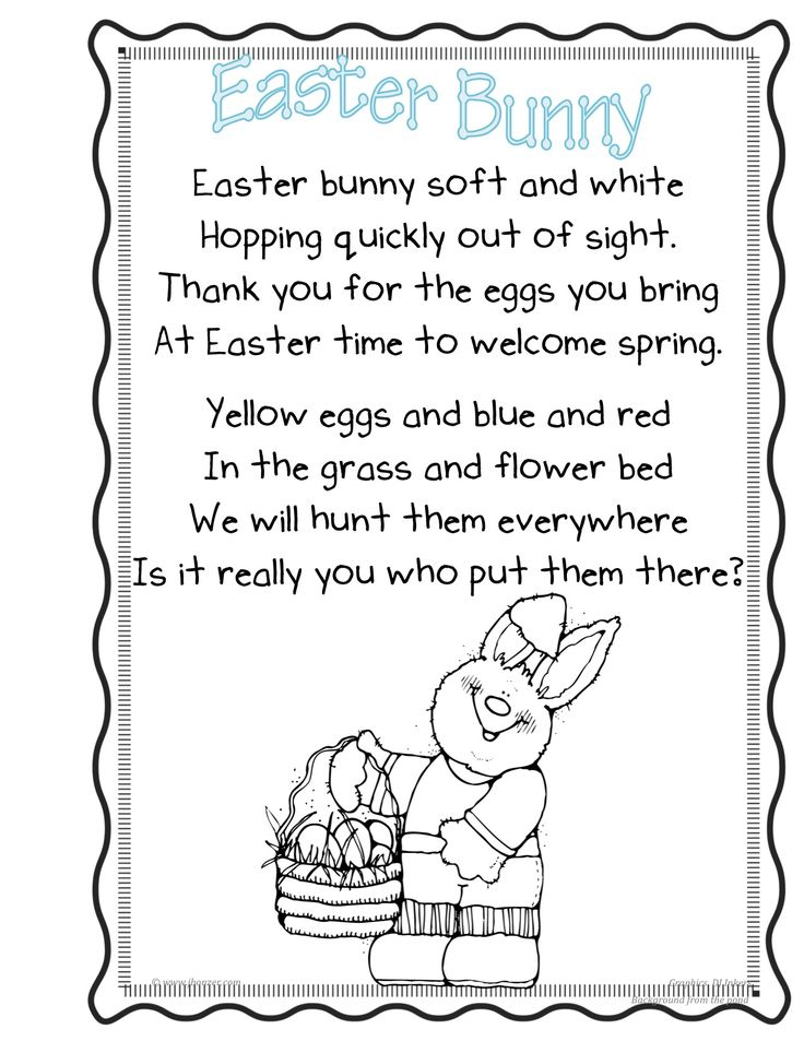 easter poems for children - Google Search