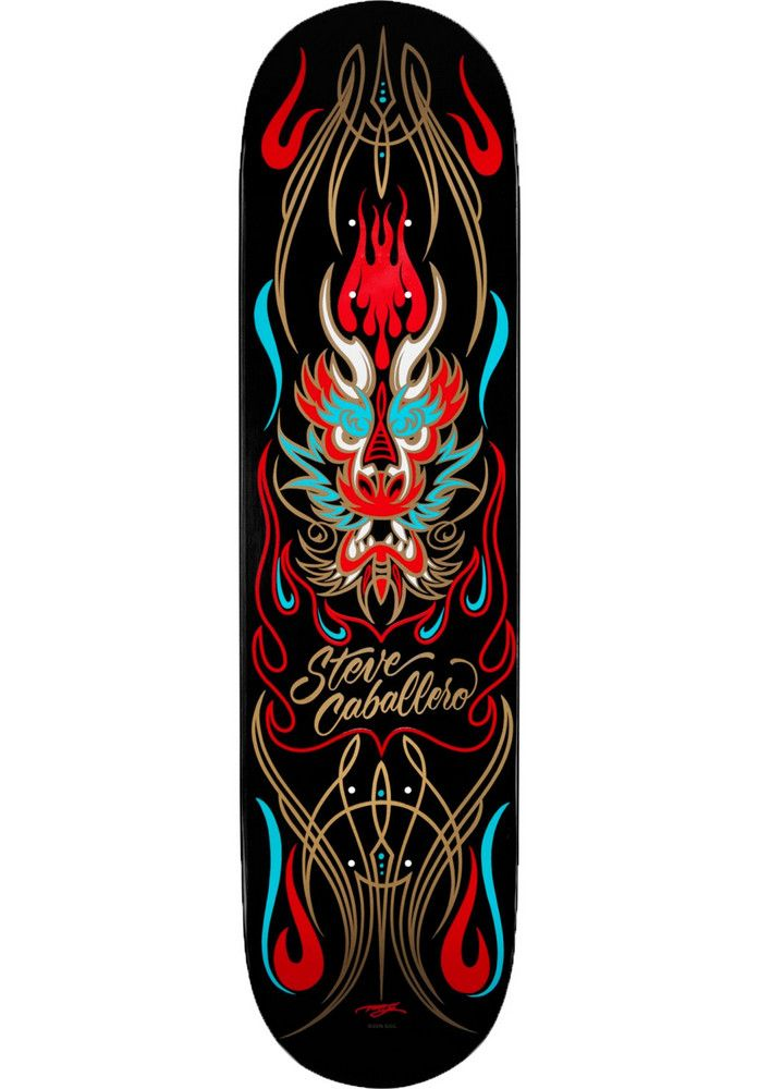 Powell-Peralta Caballero-Pin-Stripe-Dragon - titus-shop.com #Deck #Skateboard #titus #titusskateshop