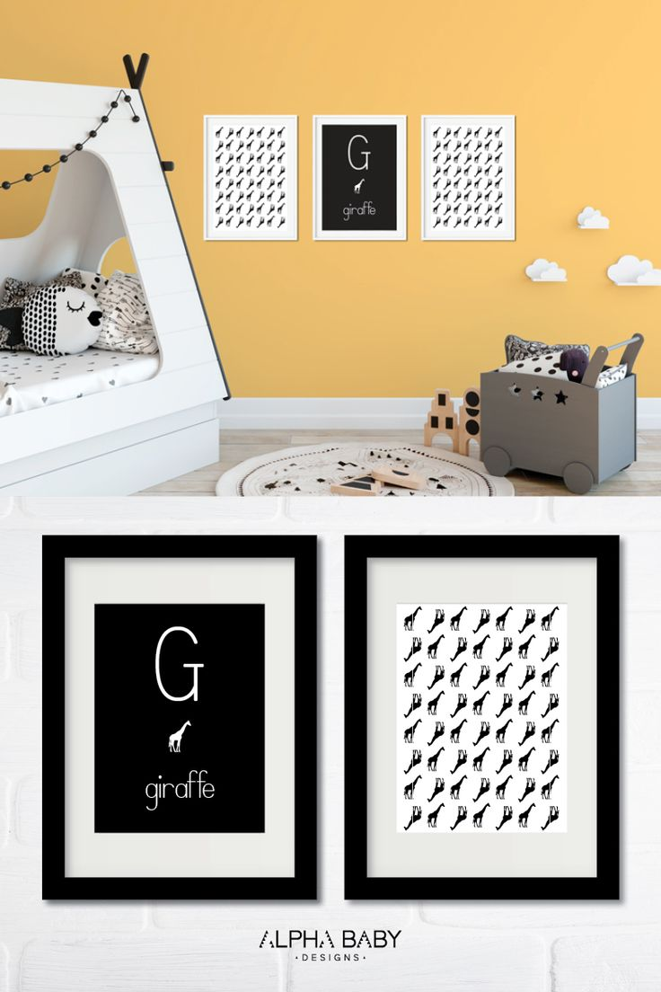 G for Giraffe // Do you know someone who's first or last name begins with 'G' or 'A' or 'S'? We've got you covered from A-Z!