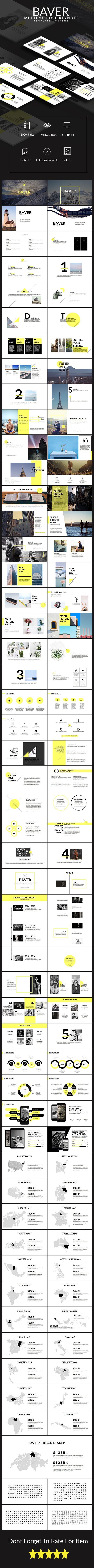 Baver Multipurpose Keynote Presentation Template