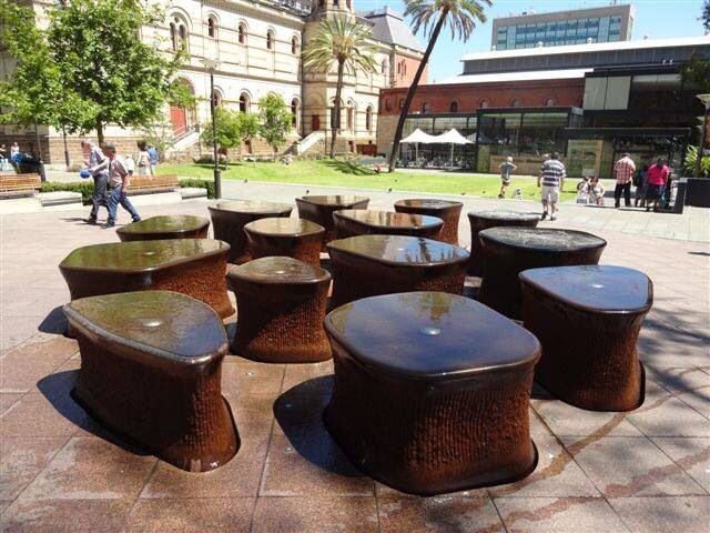 Fountain at Adelaide Museum, Adelaide, South Australia