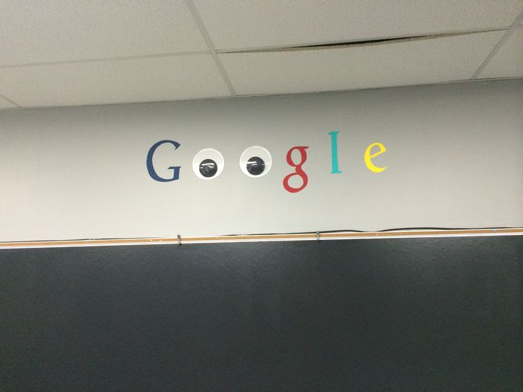 Used jumbo google eyes and card stock to make a cute decoration in the computer lab! Traced the letters on the SMARTBoard and cut them out. Simple and…