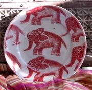 Michael Pugh stoneware plate.