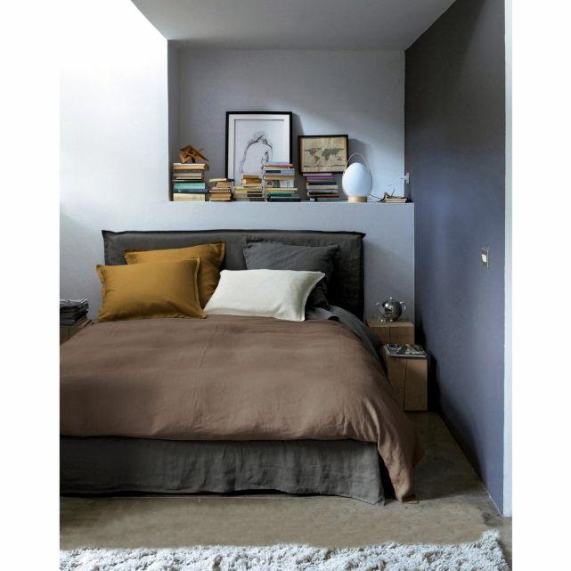housse de couette elina pur lin lav am pm casa pinterest belle and nooks. Black Bedroom Furniture Sets. Home Design Ideas