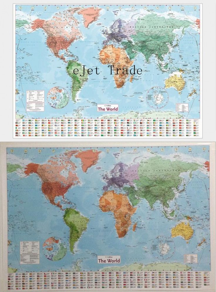 24 best my images on Pinterest World maps, Asia map and Learning - new unique world map poster