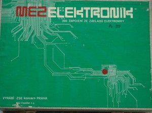Stavebnice MEZ Elektronik - 02 dřevěný kufřík