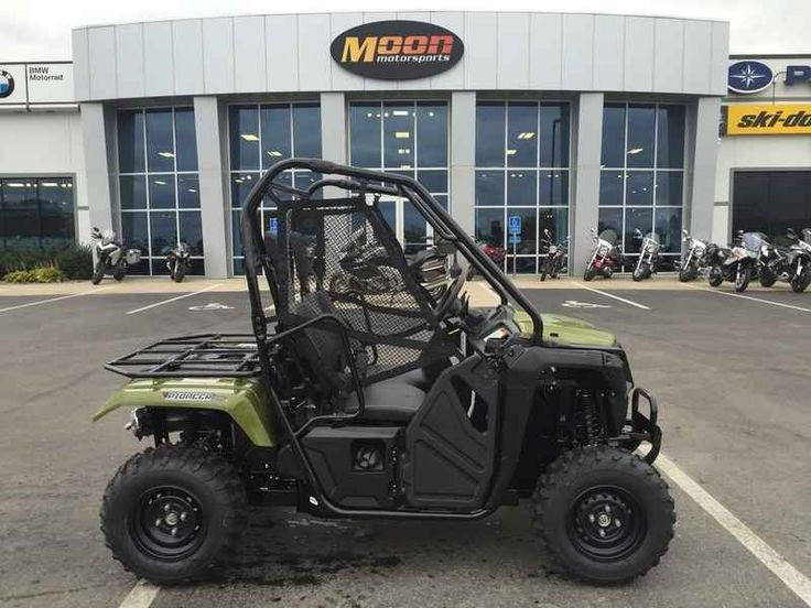 New 2017 Honda Pioneer 500 Green ATVs For Sale in Minnesota. 2017 Honda Pioneer 500 Green, Price includes freight and set up. Just add tax and licensing fees. Moon Motorsports 2017 Honda® Pioneer 500 Green FUN HAS NO RESTRICTIONS FULL-SIZED FEATURES IN A FUN-SIZED PACKAGE. Choosing the right tool is the job half done. And it can make whatever you re trying to do a lot more fun. For thousands of side-by-side owners, the right tool for the job is a Honda Pioneer 500. It s big enough to seat…