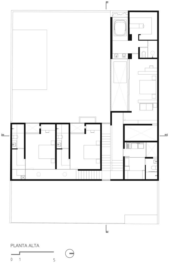 Home Architecture Pretty Twostory Lshaped House Plan Together L Shaped House Plans L Shaped House Pool House Plans