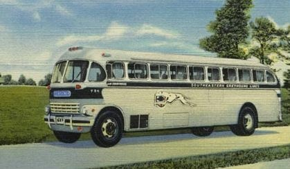 """Remember the old Grayhound Bus? """"Go Grayhound and Leave the Driving to Us"""""""