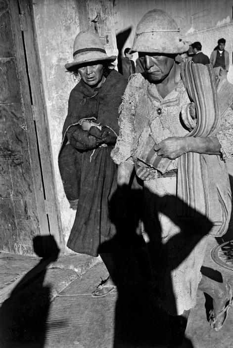 Sergio Larrain BOLIVIA. Potosi. 1958.