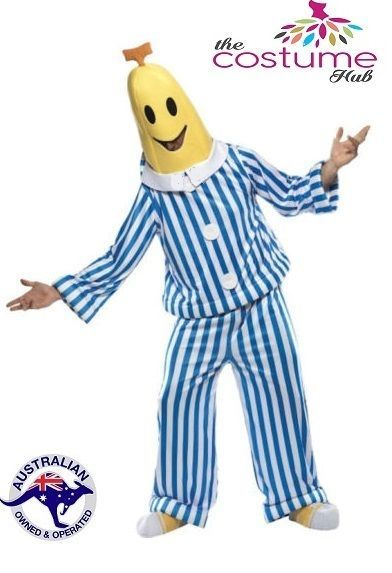 Bananas in Pyjamas Bananas Men Fancy Dress Unisex Costume Size S - L in Clothing, Shoes, Accessories, Costumes, Men's Costumes | eBay!