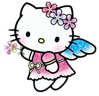 Hello Kitty Mving Glittery Dress - hello-kitty Fan Art