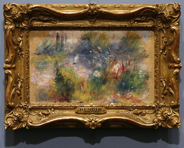 Long-lost Renoir piece returns to Baltimore museum | Renoir paintings. Painting. Renoir