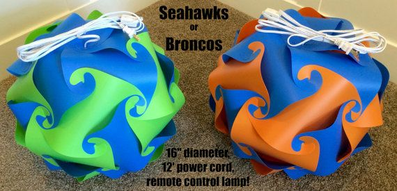Seahawks Broncos Football Team Spirit Party by WineRacknStorage