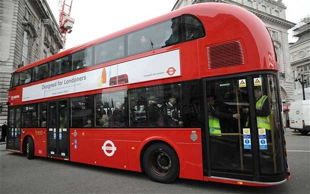 All aboard the new Routemaster - it's big, red and made in Britain