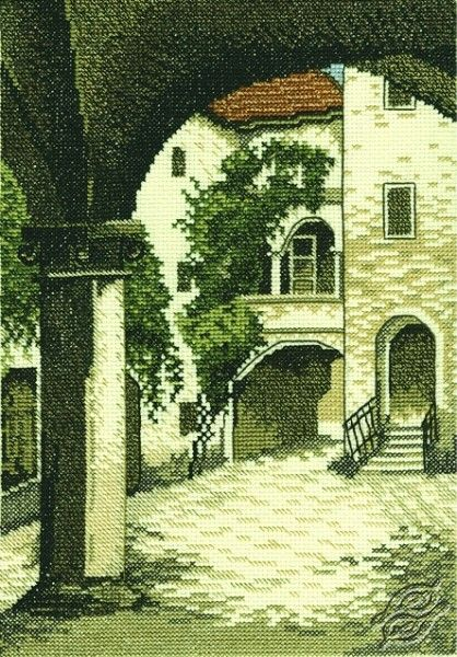 Patio - Cross Stitch Kits by RTO - R158