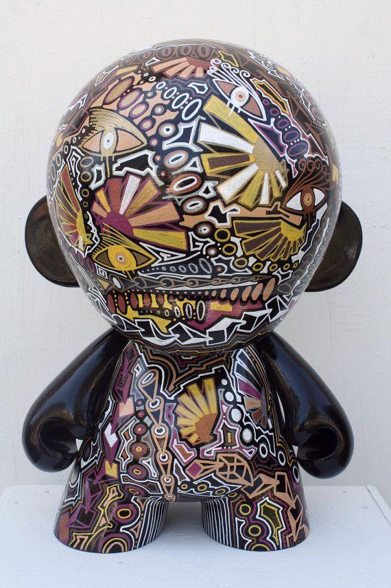 KIDROBOT kid robot mega munny sculpture by ChrisRiggsArtGallery, $1499.00