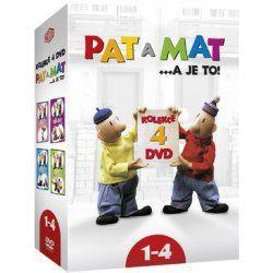 Pat a Mat 1-4 Kolekce DVD