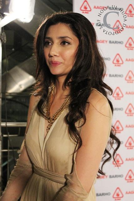 Mahira Khan. I love the cut-out long sleeves.