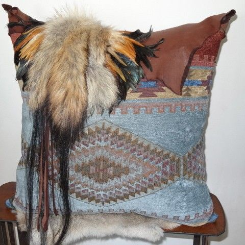 rustic accent pillows anita baptiste southwest South West Style Southwestern Bedroom Ideas
