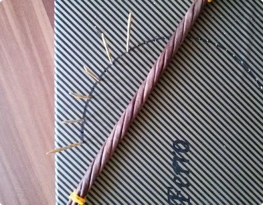 Здравствуйте, мои дорогие соседи! Выполняю обещание показать как я делаю витую ручку. фото 17