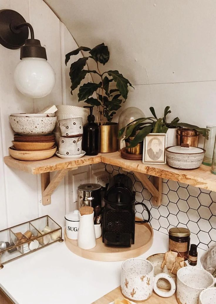 Small kitchen corner