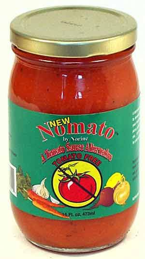 Nomato Gluten-Free Pasta and Pizza Sauce (No Tomatoes) !!!!!!!  ::::I need to try this!:::::::