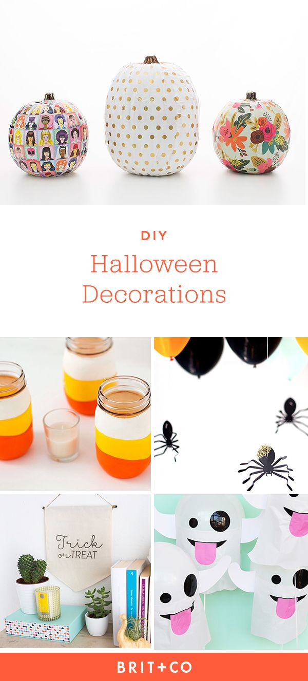 47 diy halloween decorations to start making now - When To Start Decorating For Halloween