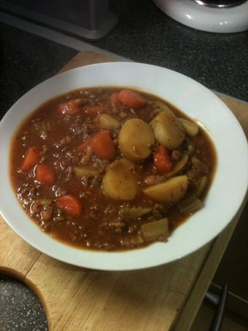 Vicki-Kitchen: Cowboy hotpot (slimming world friendly)